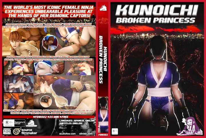 Kunoichi - Broken Princess 3D